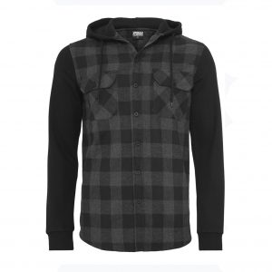 Urban Classics Hooded Flanell Shirt 1
