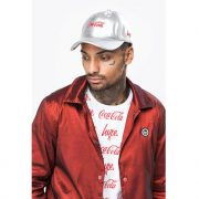 hype coca cola silver dad hat 1