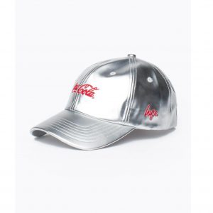 hype coca cola silver dad hat 1