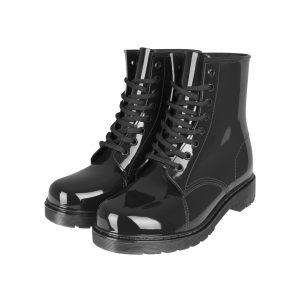 urban classics laced rain boots 1